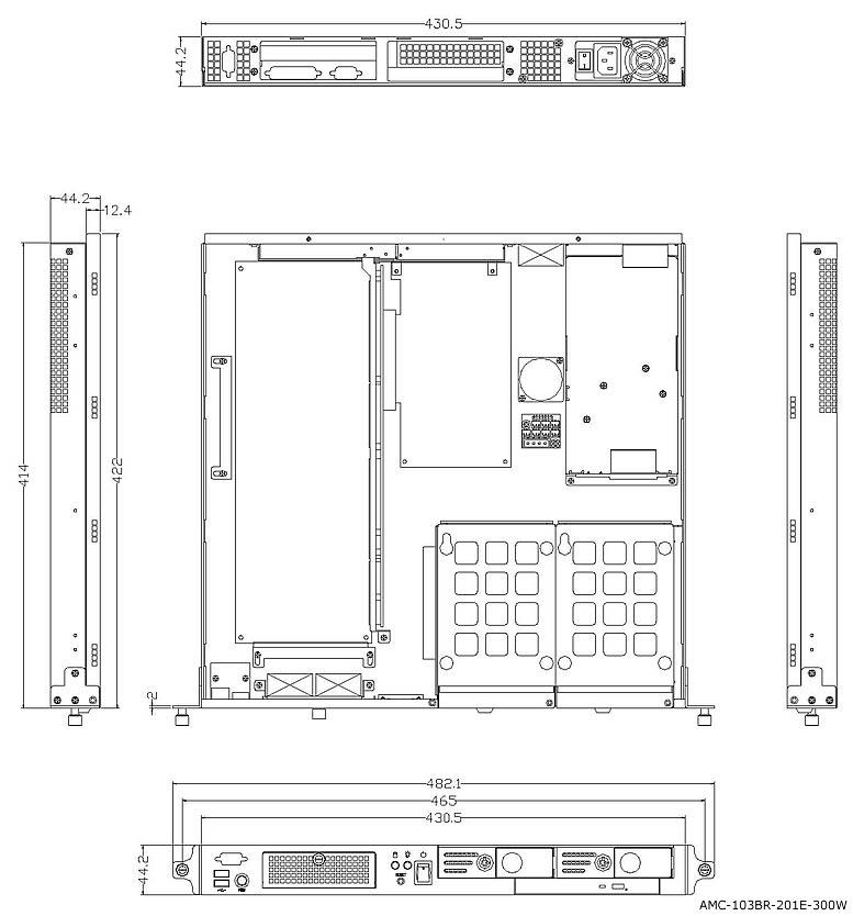Amc expansion slot